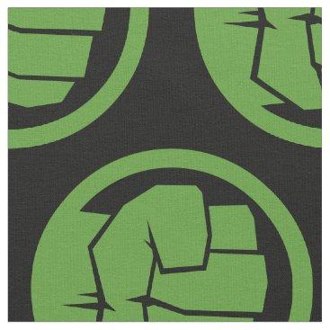 Incredible Hulk Logo Fabric