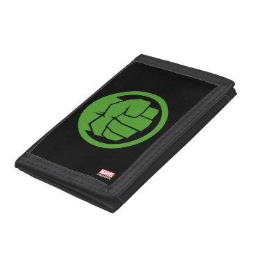 Incredible Hulk Logo Trifold Wallet