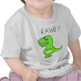 Infant T-Rex Shirts