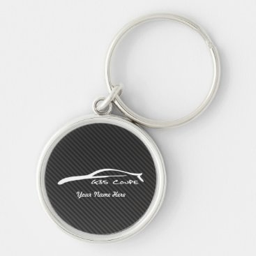 Infiniti G35 Coue with faux Carbon Fiber Keychain