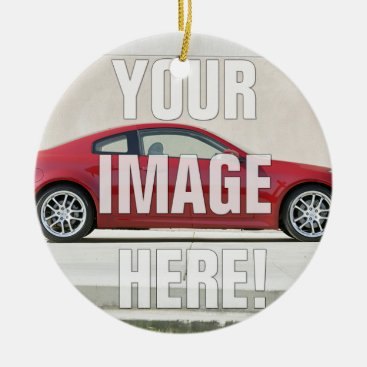 Infiniti G35 Coupe - Add your photo Ceramic Ornament