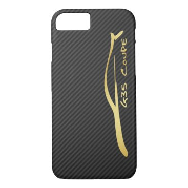 Infiniti G35 Coupe gold silhouette logo iPhone 8/7 Case
