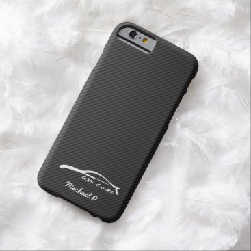 Infiniti G35 Coupe White Silhouette Logo Barely There iPhone 6 Case