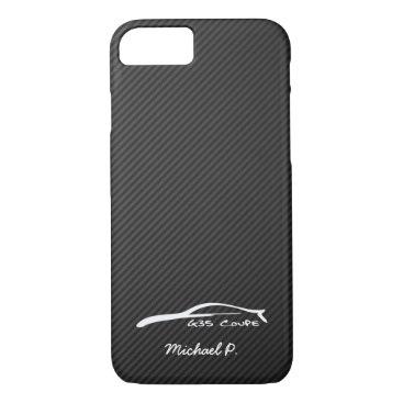 Infiniti G35 Coupe White Silhouette Logo iPhone 8/7 Case