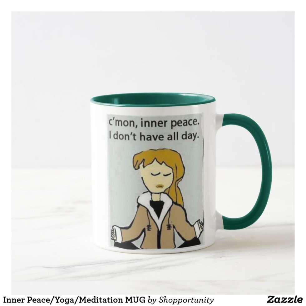 Inner Peace/Yoga/Meditation MUG