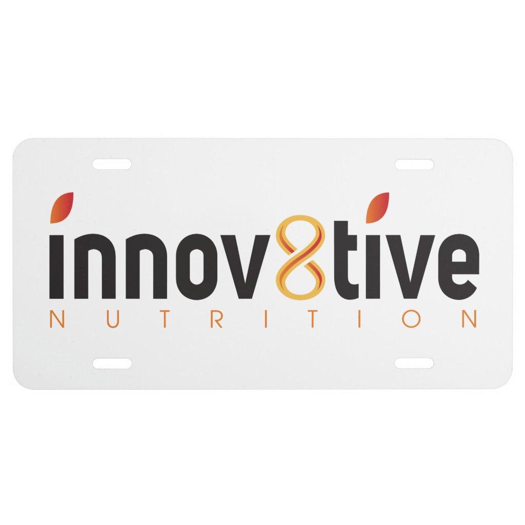 Innov8tive License Plate