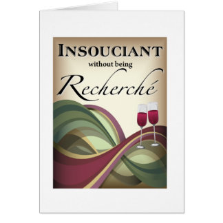 Insouciant, Without Being Recherché Cards