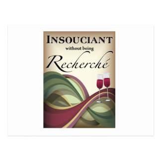 Insouciant, Without Being Recherché Post Card