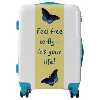 Inspirational Suitcase - Rise Up
