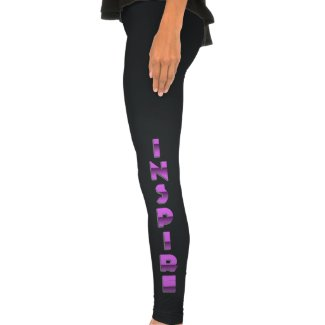 Inspire Someone Bold Two Tone Women's Leggings