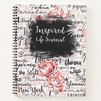 Inspired Life Prayer Journal Travel Diary Planner