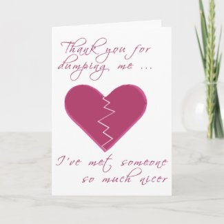Insulting Valentine Card