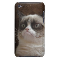 iPod Touch Case - Grumpy Cat Glare