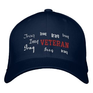 Iraq Veteran - Embroidered Hat