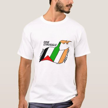 Ireland Palestine One Struggle T-Shirt