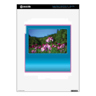 Iris of the Field Customizable iPad 3 Decal