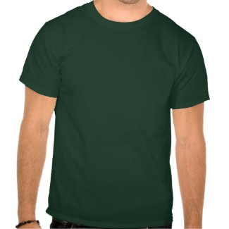 Irish Flag Shamrock T-Shirts (Distressed)