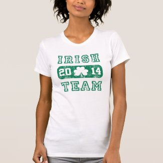 Irish Team 2014 T-shirt