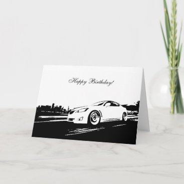 Is350 Rolling Shot Birthday Card