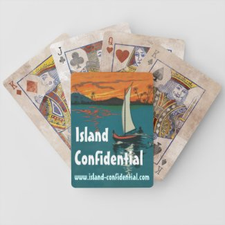 Island Confidential has the story Bicycle Playing Cards