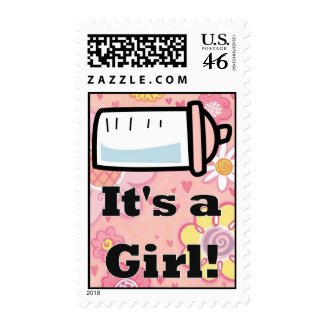 It's a girl stamp stamp