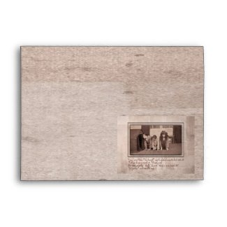 It's Father, Exclaimed Wendy Envelope
