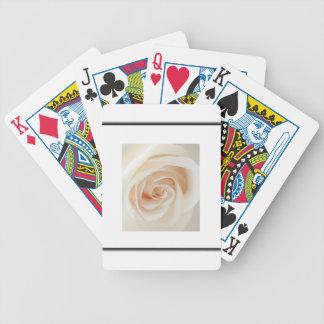 Ivory Rose Card Decks