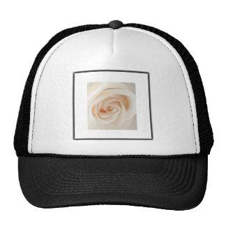 Ivory Rose Trucker Hat