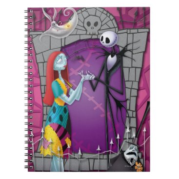 Jack and Sally Holding Hands Notebook
