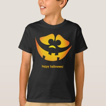 Jack-o'-lantern goofy faces - Happy Halloween! T-Shirt