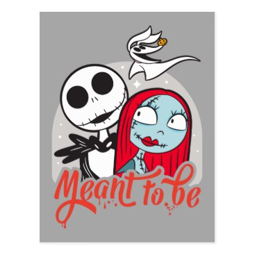 Jack & Sally | Meant to Be Postcard