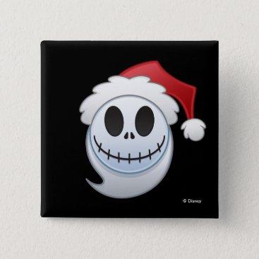 Jack Skellington Santa Emoji Pinback Button