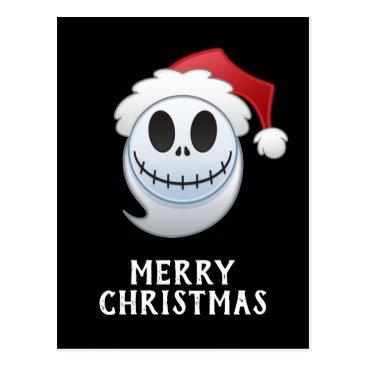 Jack Skellington Santa Emoji Postcard
