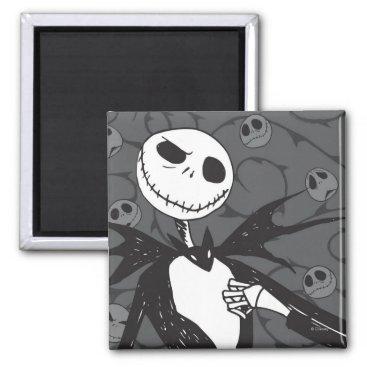 Jack Skellington | Skellington Background Magnet
