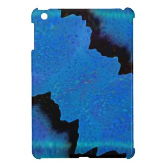 Jagged Blue Ice iPad Mini case