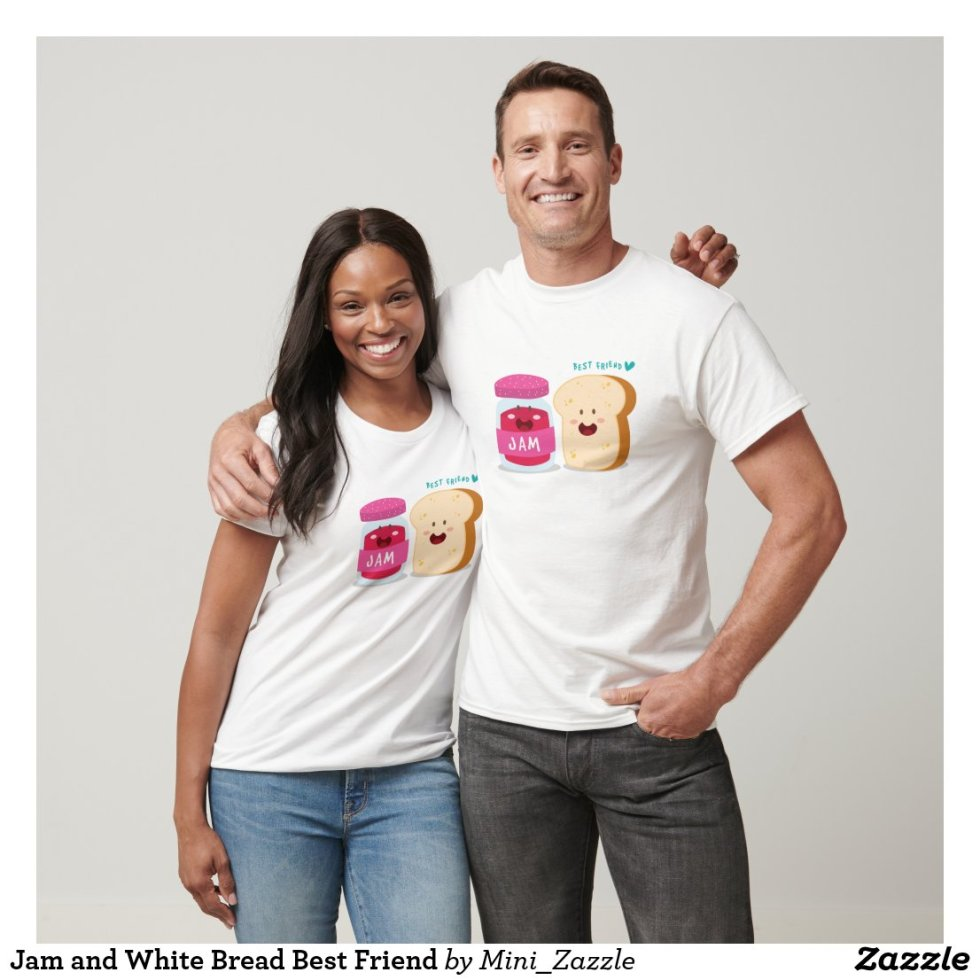 Jam and White Bread Best Friend T-Shirt