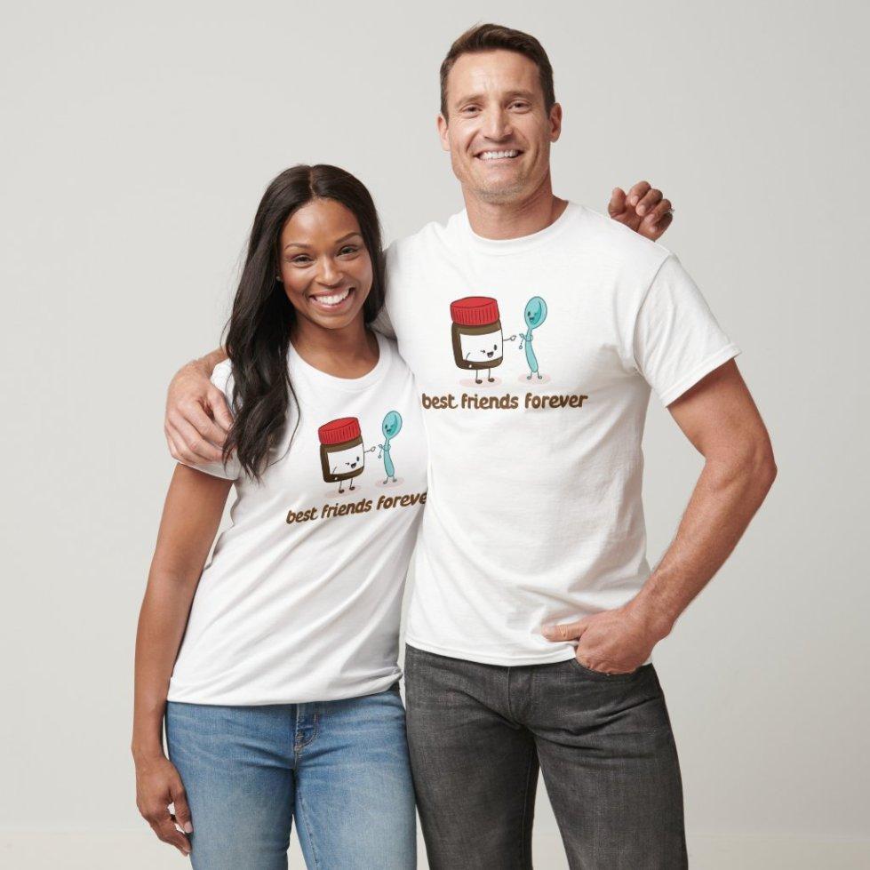 Peanut Butter and Spoon Best Friend T-Shirt