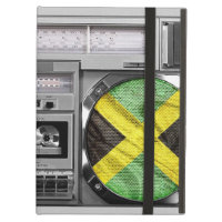 Jamaica boombox iPad folio case