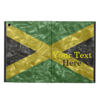 Jamaican Flag - Crinkled iPad Air Case