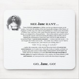 Jane Rant Mousepad