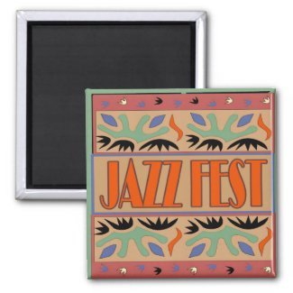 Jazz Fest After Matisse magnet