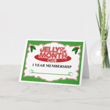 Jelly of the Month Club Holiday Card