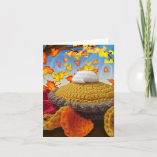 Gnome Happy Thanksgiving Greeting Card