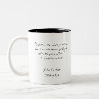 John Calvin Classic Mug mug