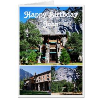 John Happy Birthday Ahwahnee Hotel Yosemite