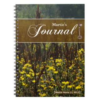 Journal Notebook - Fields of Van Gogh