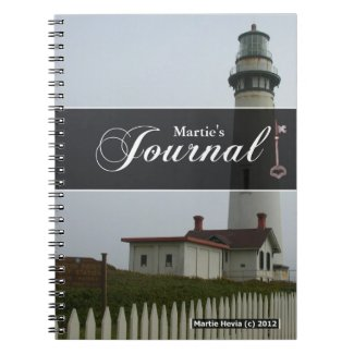 Journal Notebook - Lighthouse
