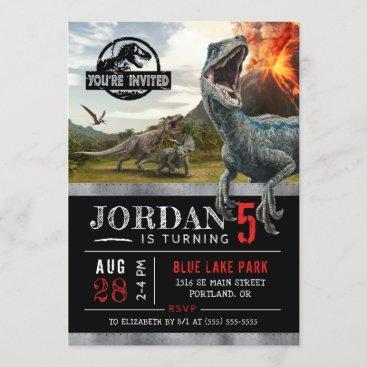 Jurassic World | Dinosaur Birthday Invitation