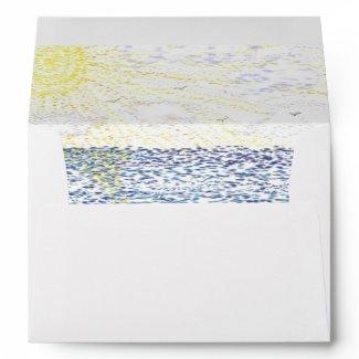 Just Beachy Envelope envelope
