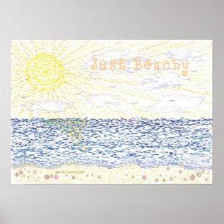Just Beachy - Print print